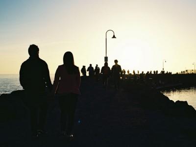 St Kilda beach {Personal}