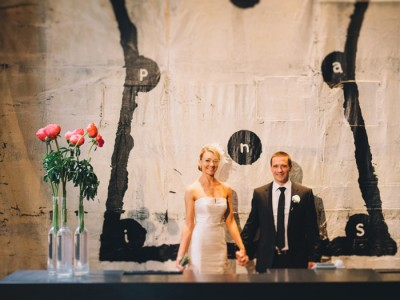 Leah + John {Circa The Prince Wedding St Kilda}