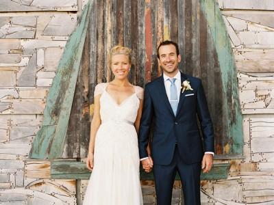 Luke + Hayley {Sorrento Beach Wedding}