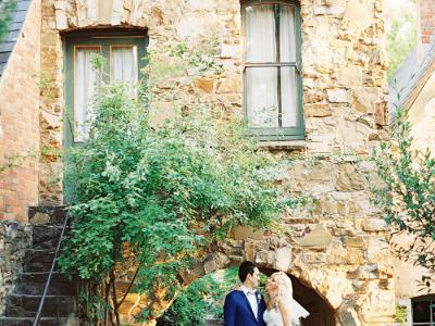 Michael + Hayley {Montsalvat Wedding}