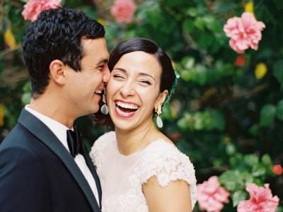 Rob + Giuliana {Luminare Sky Deck wedding}