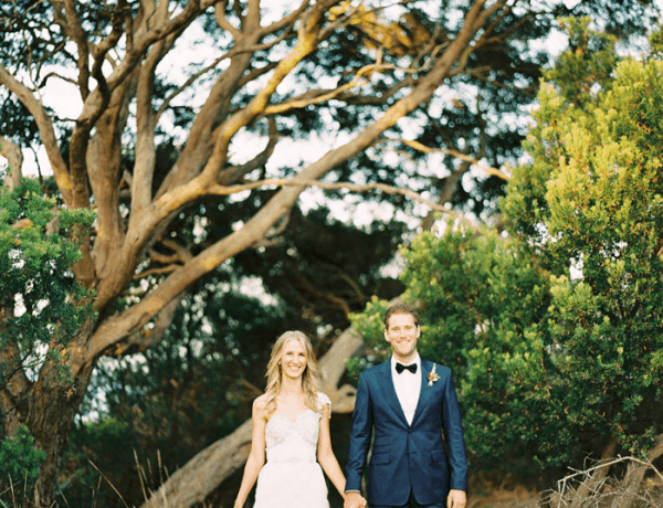 phillip island wedding at the beach