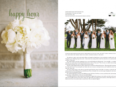 Real Weddings Magazine Feature