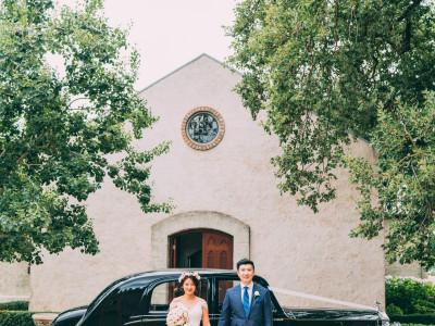 Stones of the yarra valley chapel wedding