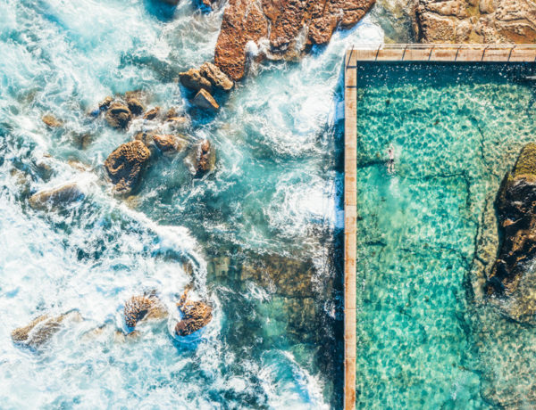 sydney Rockpool drone photography